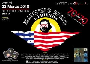 Maurizio Bigio & friends: presentazione del concerto domani, alle 11 in sala della Vaccara