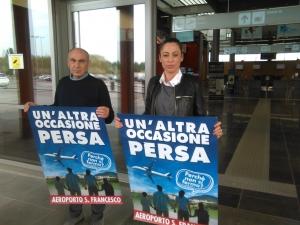 Paradossale gestione dell'Aeroporto San Francesco, Castori e Luciani (FI): la saga continua