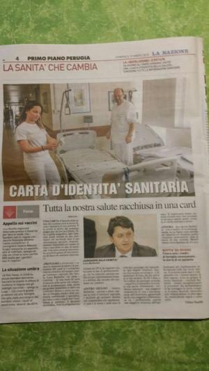 """Umbria: a tutti la Carta d'idenita' sanitaria; anche il privato c'e' con """"My Life card"""""""