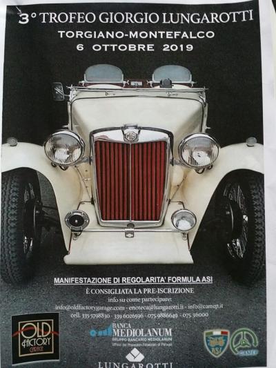 Trofeo Giorgio Lungarotti: trentacinque prove cronometrate. In crescita le iscrizioni