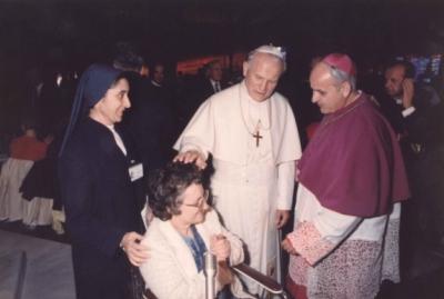 Pagani con il Papa