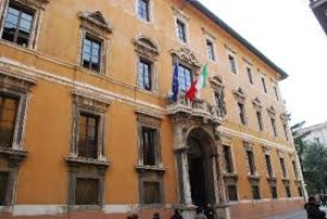 Inaugurazione Anno Accademico Universita': Marini riceve a palazzo Donini Senato Accademico