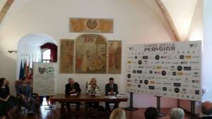 Camep e Perugina insieme per celebrare la 30/ma rievocazione storica della Coppa della Perugina. Auto d'epoca e cioccolato: arte e passione