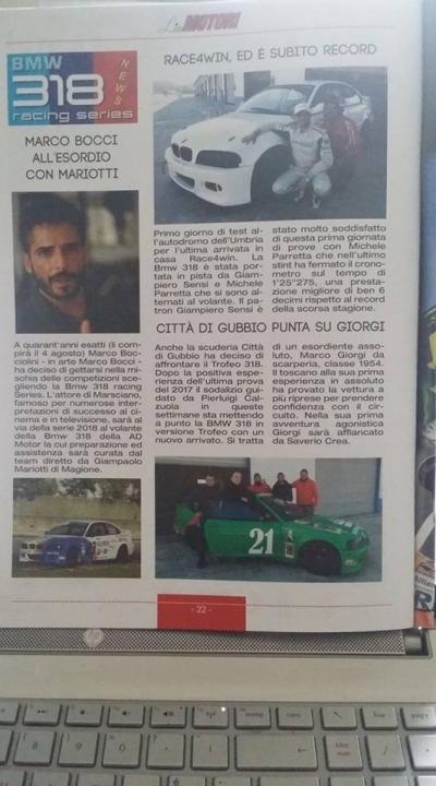 Linea Motori,  il mensile di motorismo di Francesco Ippolito