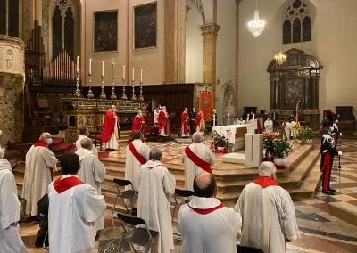 Omelia Cardinal Bassetti: preoccupazioni per i dati sia a Perugia che nella zona Trasimeno