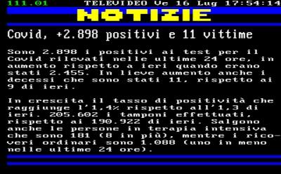 Coronavirus/Italia: in aumento i casi (2.898) cosi' i decessi rispetto a ieri