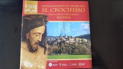 A Migiana dal 27/5 al 3/6 sarà festa del SS Crocifisso