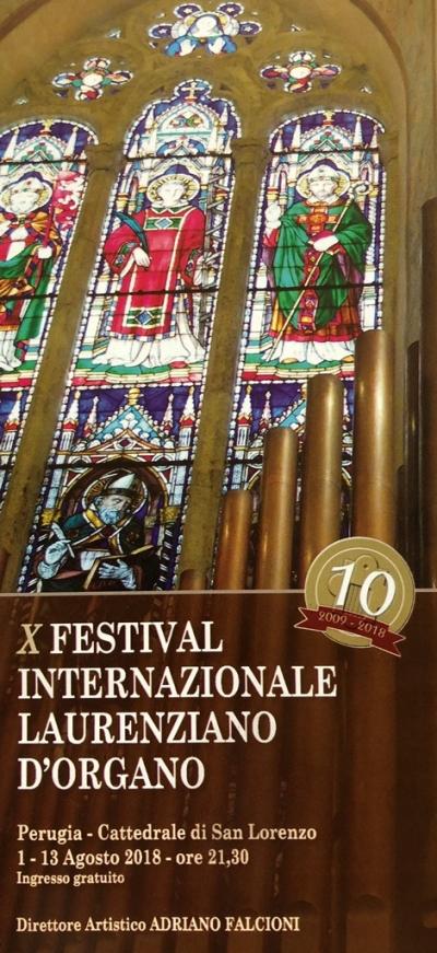Presentazione della decima edizione del Festival Internazionale Laurenziano d'Organo e associazione F.I.L.O.