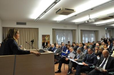 """Giustizia contabile: seminario a Villa Umbra. Marini """"fondamentale collaborazione tra amministratori e giustizia contabile""""."""
