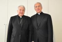 Nunzio apostolico con Mons. Boccardo