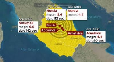 Area sisma, contratto di sviluppo; approvati e finanziati progetti dell'Umbria per oltre 22 mln euro