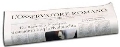 """Sull'Osservatore Romano il Testo in lingua italiana dell'Enciclica """"Fratelli tutti"""""""