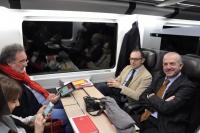 Frecciarossa: in un mese di attività 7200 prenotazioni; 4100 passeggeri, piu' delle  previsioni