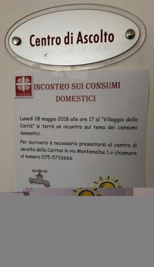 """Perugia: iscrizioni per l'""""Incontro sui consumi domestici"""" promosso da Caritas e ACLI"""