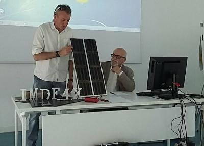 Fotovoltaico: presentato a Perugia nuovo brevetto. Cella ad energia illuminesciente
