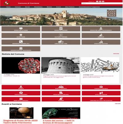 Nuovo sito web Comune Corciano: Ass. Braconi si appresta al debutto