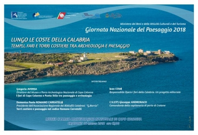 Calabria: templi, fari e torri costiere tra archeologia e paesaggio. Eventi al Museo Archeologico di Capo Colonna (Crotone)