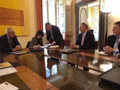 Urbino: Rettore universita' Texas incontra enti e istituzioni