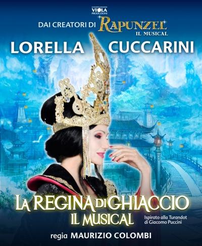 Lyrick di Assisi va in scena La Regina di Ghiaccio, musical ideato e diretto da Maurizio Colombi. Turandot è Lorella Cuccarini