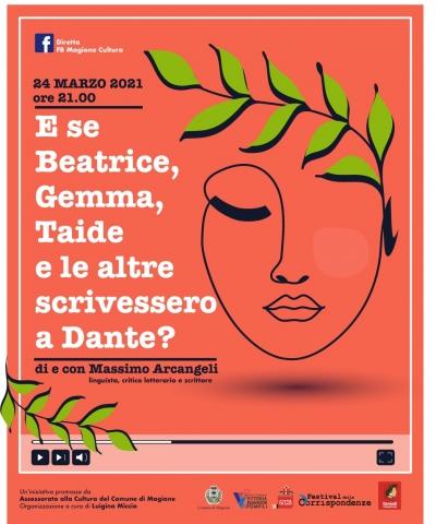 Magione: Massimo Arcangeli nella scrittura delle donne nella vita e opere di Dante Alighieri