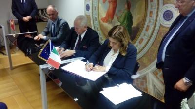 A Bruxelles, Umbria e Voivodato Varma Masuria (Polonia) firmano collaborazione sviluppo sociale ed economico