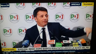 Elezioni: Matteo Renzi si dimette da segretario del PD
