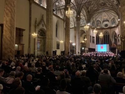 Concerto per i 10 anni ingresso a Perugia del Cardinal Bassetti