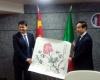 Cooperazione Umbria Cina: memorandum....delegazione in visita ospedali
