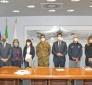 Covid/Marche: Gen. Figliuolo e capo protezione civile Curcio,