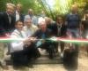 Pieve Torina: Ceriscioli all'inaugurazione della nuova pista ciclopedonale nelle Marche
