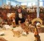Presepi di Natale: tradizionali (a firma di Sante Cacchiata) e ad Antria con figuranti