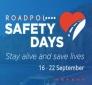 Campagna ROADPOL: giornata di sensibilizzazione, Piazza IV Novembre con operatori polizia stradale